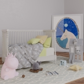 Childroom with RH Calais bed