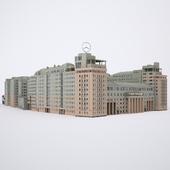 Здание Москва Ул. улица Серафимовича, 2