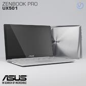 Notebook ASUS Zenbook Pro UX501