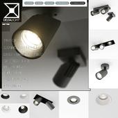 Delta light-встроенные,накладные потолочные светильники