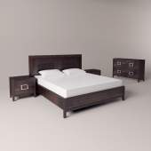 Bed side tables and chest of drawers