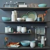 Набор для кухни Turquoise
