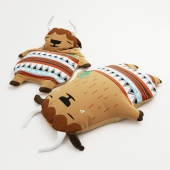 Pillow-toy bison