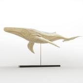 whale figurine