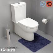 Centro Wall Faced Toilet