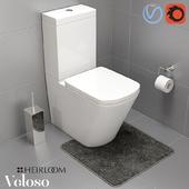 Veloso Wall Faced Toilet