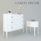 Chest of drawers and bedside Garda Decor