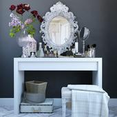 Декоративный набор для туалетного столика 3