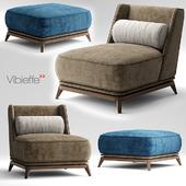Кресло Vibieffe OPERA Armchair