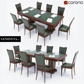 Conference Table with chairs Genoveva