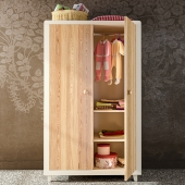Anouk Wooden wardrobe