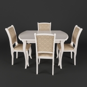 Alicante table with chairs MN Milano