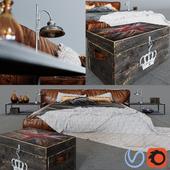 Bed Illini in loft