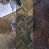 Parquet. Herringbone parquet. The French Christmas tree parquet board