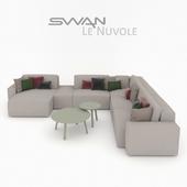 Модульный диван SWAN Le Nuvole