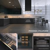Kitchen Poliform Varenna Phoenix 3 (vray, corona)