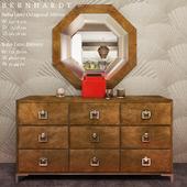 BERNHARDT Soho Luxe Dresser / Soho Luxe Octagonal Mirror