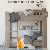 Restoration Hardware Callum bunk bed