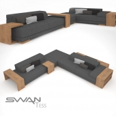 Диванная группа  SWAN  Tess