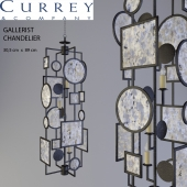 Currey & Company Gallerist Chandelier