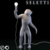 SELETTI The Monkey Lamp Standing Version