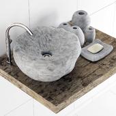 Stone washing gray