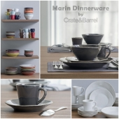 Marin Dinnerware collection by Crate&Barrel