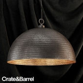 crate&barrel rodan pendant light