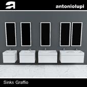 Antoniolupi Sinks Graffio
