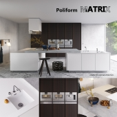 Кухня Poliform Varenna Matrix (vray GGX, corona PBR)