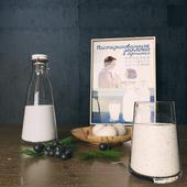 Молоко и йогурт