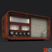 Retro Radio by Christian Ferrari