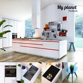 Кухня Poliform Varenna My Planet 3 (vray, corona)