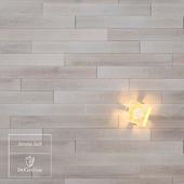 Salt wooden floor by DuChateau