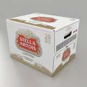 Corrugated box for beer