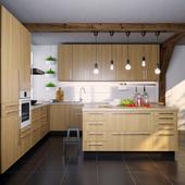IKEA Kitchen EKESTAD oak (ekestad oak)