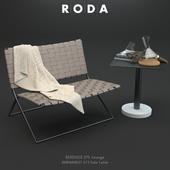 Roda Berenice Lounge and Bernardo Table