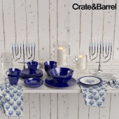 Crate&Barrel Hanukkah set