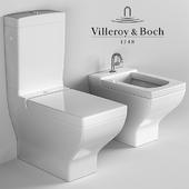 Напольный унитаз и биде Villeroy&Boch La Belle
