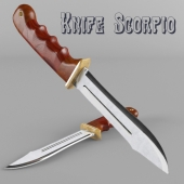 Knife Scorpio