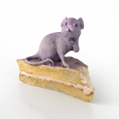 Mouse on the cake