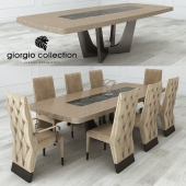 Giorgio Collection Lifetime Table And Chair