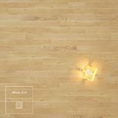White oak wooden floor