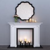 Decorative fireplace 5