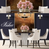 BAKER DINING TABLE 2