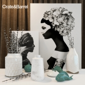Декоративный набор Crate and Barrel