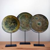 BALSAMO - Set of Three Bronze Sculptures