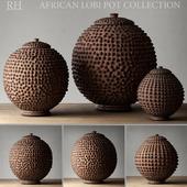 AFRICAN LOBI POT COLLECTION