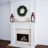 01 Christmas Fireplace