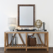 Entryway set Crate and Barrel